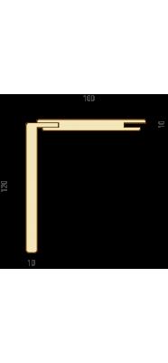 Комплект для обшивки розсувної системи ТЕЛЕСКОП МДФ KCSS-T-01